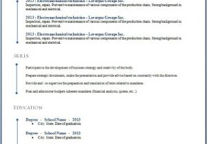 Cv Resume Template Microsoft Word 50 Free Microsoft Word Resume Templates for Download