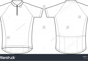Cycling Shirt Template Bicycle Jersey Template Vector Templates Resume