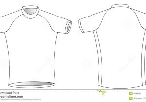 Cycling Shirt Template Cycling Jersey Royalty Free Stock Photography Image 9669767