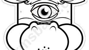 Cyclops Mask Template Cyclops Mask Template Images Template Design Ideas