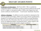 Da form 2442 Certificate Of Achievement Template Semi Centralized Promotions Ppt Download