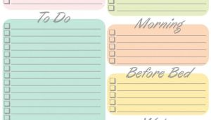 Daily Calendar to Do List Template 8 Amazingly Free Printable Daily Planners to Keep You