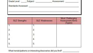 Data Analysis Template for Teachers 5 Data Analysis Samples Sample Templates