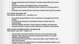 Data Analyst Resume Template Data Analyst Resume Sample Resume Genius