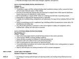 Data Engineer Resume Data Center Operations Resume Samples Velvet Jobs