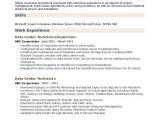 Data Engineer Resume Data Center Technician Resume Samples Qwikresume