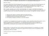 Data Engineer Resume Data Centre Engineer Cover Letter Sample Cover Letter
