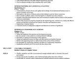 Data Engineer Resume Engineer Data Science Resume Samples Velvet Jobs
