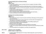 Data Engineer Resume Information Systems Engineer Resume Samples Velvet Jobs