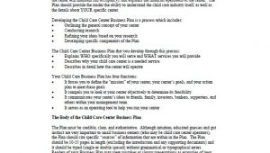 Daycare Business Plan Template Pdf Daycare Business Plan Template 12 Free Word Excel Pdf