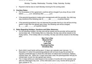 Daycare Contract Template Best 25 Daycare Contract Ideas On Pinterest Daycare