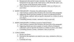 Dbq Essay Outline Template Dbq Essay Outline Exploration
