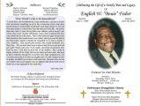 Death Program Templates 6 Funeral Program Layout Authorizationletters org