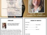 Death Program Templates 73 Best Printable Funeral Program Templates Images On