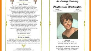 Death Program Templates 9 Free Obituary Program Templates St Columbaretreat House