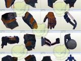 Deathstroke Armor Template Deathstroke Costume Template Pattern Pepakura 3d Model