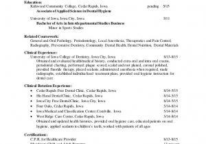 Dental Hygiene Resume Sample Dental Hygiene Resume