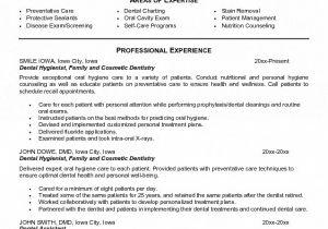 Dental Hygiene Resume Sample Dental Hygienist Resume