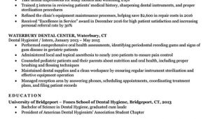 Dental Hygiene Student Resume Dental Hygienist Resume Sample Writing Tips Resume