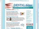 Dental Newsletter Template Dental Bites Monthly Newsletter Wpi Communications Wpi