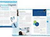 Dental Newsletter Template Dentistry Dental Office Newsletter Template Design