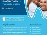 Dental Newsletter Template Free Download Dental Flyer Template Psd Flyershitter Com