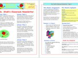 Department Newsletter Templates 13 Free Newsletter Templates You Can Print or Email as Pdf