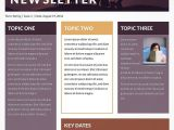 Department Newsletter Templates Microsoft Newsletter Templates Publisher Free