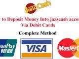Deposit Money On Simple Card Deposit Money Into Jazzcash Account Via Debit Card