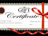 Design A Gift Certificate Template Free 18 Gift Certificate Templates Excel Pdf formats
