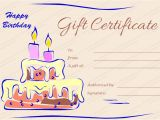 Design A Gift Certificate Template Free Gift Certificate Templates
