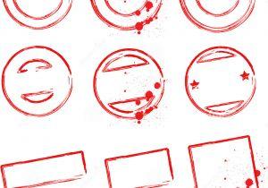 Design A Stamp Template Stamp Templates Stock Vector Illustration Of Grunge