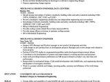Design Engineer Resume Mechanical Design Engineer Resume Samples Velvet Jobs