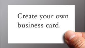 Design Your Own Business Cards Free Template Create Your Own Business Cards Design Image Collections