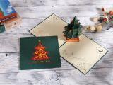Design Your Own Christmas Card 10pcs Aitpop Christmas Tree Green Pop Up Card Aitpop