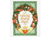 Design Your Own Christmas Card Vintage Irish Christmas Card Zazzle Com with Images