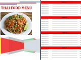 Design Your Own Menu Template 8 Create A Menu Free Procedure Template Sample