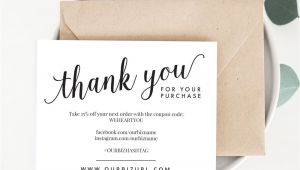 Design Your Own Thank You Card Instantly Download Customize and Print Your Own Thank You