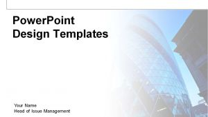 Designing A Powerpoint Template Powerpoint Design Template Powerpoint Templates