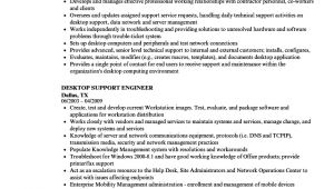 Desktop Support Engineer Resume Desktop Support Engineer Resume Samples Velvet Jobs