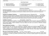 Desktop Support Engineer Resume Doc Sample Resume for Field Service Technician 218944