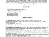 Dietary Requirements Email Template Dietary Aide Job Description for Resume