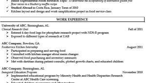 Dietetic Student Resume Pin by Job Resume On Job Resume Samples Job Resume
