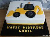 Digger Cake Template Digger Jcb Excavator Birthday Cake Honey Street Bakery