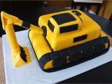 Digger Cake Template Excavator Cake Template Excavator Cake Construction