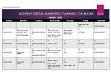 Digital Content Calendar Template Content Calendar Template Free Download Macmanda Media