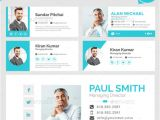 Digital Email Signature Templates 20 Best Email Signature Templates Psd HTML Download