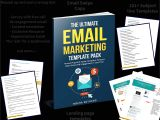 Digital Marketing Email Templates Email Marketing Template Pack Offer Meera Kothand