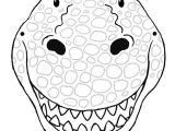Dinosaur Mask Template Free Best 25 Dinosaur Mask Ideas On Pinterest It Clown Mask