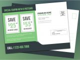 Direct Mail Flyer Template Every Door Direct Mail for Eye Vision Product Marketing